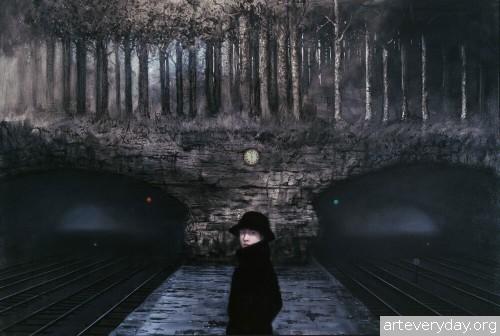 12 | Мрачные сновидения Майка Уорролла | ARTeveryday.org
