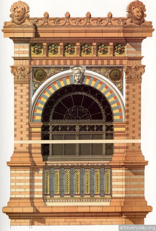 12 | Victorian Brick and Terra-Cotta Architecture - Викторианская кирпичная и терракотовая архитектура | ARTeveryday.org