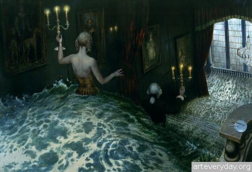 15 | Мрачные сновидения Майка Уорролла | ARTeveryday.org