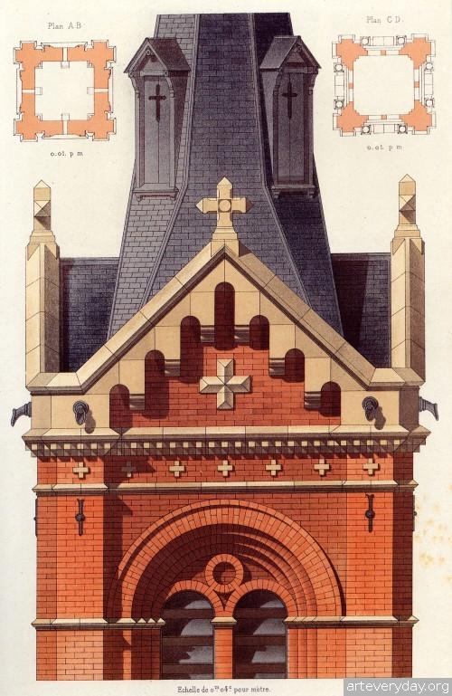 15 | Victorian Brick and Terra-Cotta Architecture - Викторианская кирпичная и терракотовая архитектура | ARTeveryday.org
