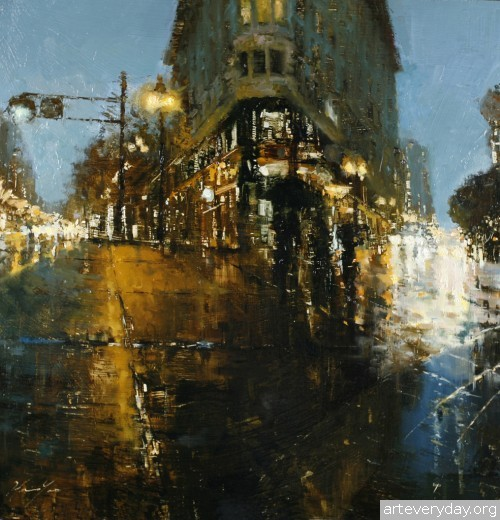 1 | Hsin-Yao Tseng - Син-Яо Цзэн. Рассвет и закат в Сан-Франциско | ARTeveryday.org