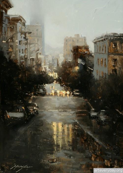 2 | Hsin-Yao Tseng - Син-Яо Цзэн. Рассвет и закат в Сан-Франциско | ARTeveryday.org
