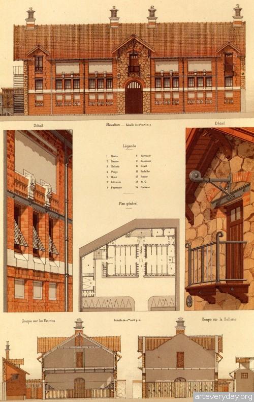 2 | Victorian Brick and Terra-Cotta Architecture - Викторианская кирпичная и терракотовая архитектура | ARTeveryday.org