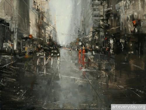3 | Hsin-Yao Tseng - Син-Яо Цзэн. Рассвет и закат в Сан-Франциско | ARTeveryday.org