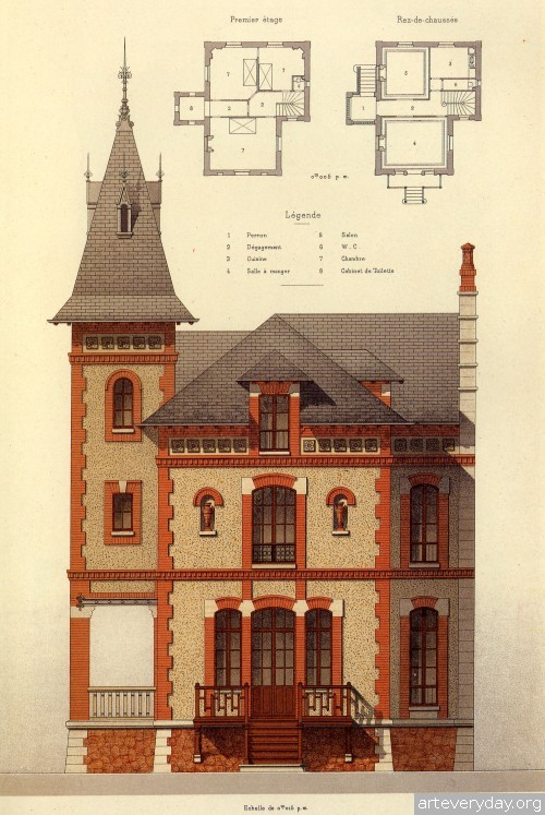 3 | Victorian Brick and Terra-Cotta Architecture - Викторианская кирпичная и терракотовая архитектура | ARTeveryday.org