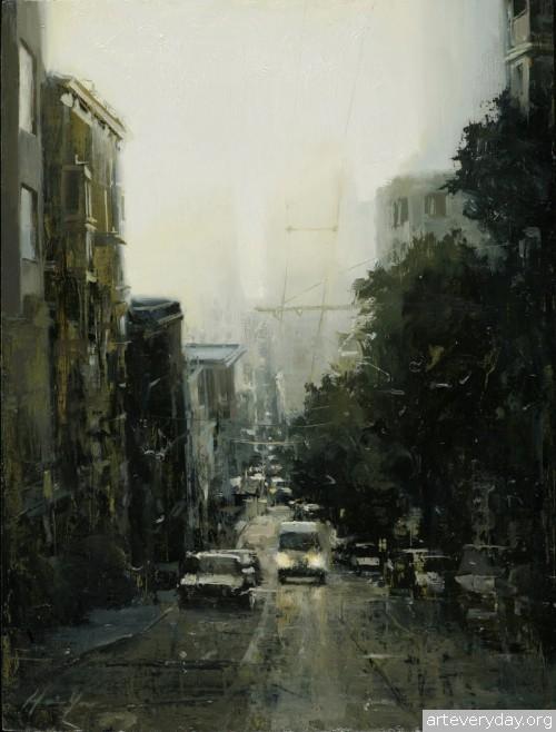 4 | Hsin-Yao Tseng - Син-Яо Цзэн. Рассвет и закат в Сан-Франциско | ARTeveryday.org