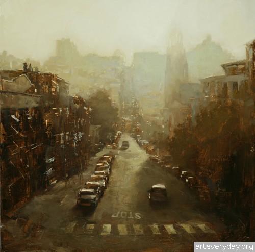 6 | Hsin-Yao Tseng - Син-Яо Цзэн. Рассвет и закат в Сан-Франциско | ARTeveryday.org