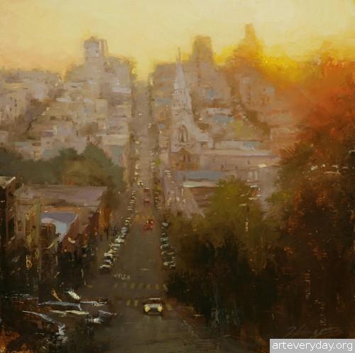 7 | Hsin-Yao Tseng - Син-Яо Цзэн. Рассвет и закат в Сан-Франциско | ARTeveryday.org