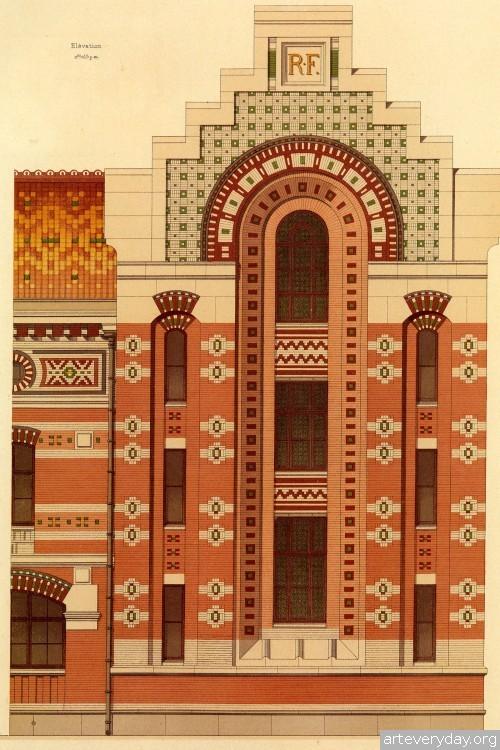 7 | Victorian Brick and Terra-Cotta Architecture - Викторианская кирпичная и терракотовая архитектура | ARTeveryday.org