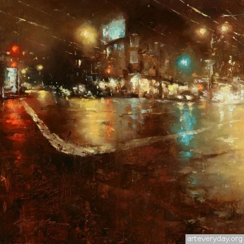 8 | Hsin-Yao Tseng - Син-Яо Цзэн. Рассвет и закат в Сан-Франциско | ARTeveryday.org