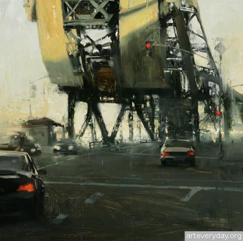 9 | Hsin-Yao Tseng - Син-Яо Цзэн. Рассвет и закат в Сан-Франциско | ARTeveryday.org