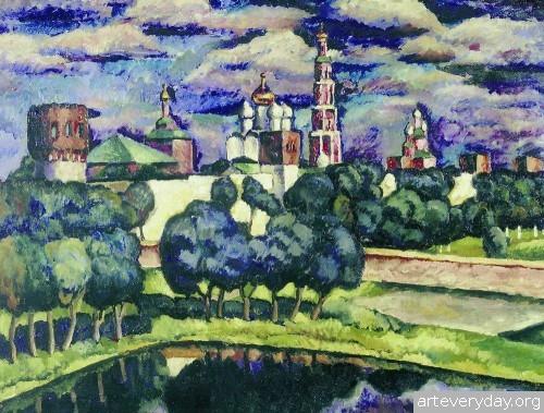 Новодевичий монастырь. 1912 - 13 гг.