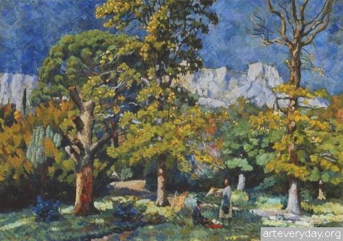 Крым. Парк в Алупке. 1923 г.