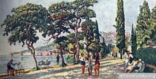 Сентябрьское утро в Артеке. 1926-29 гг.