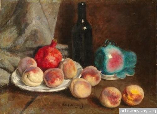 Натюрморт с персиками. ок. 1939 г.