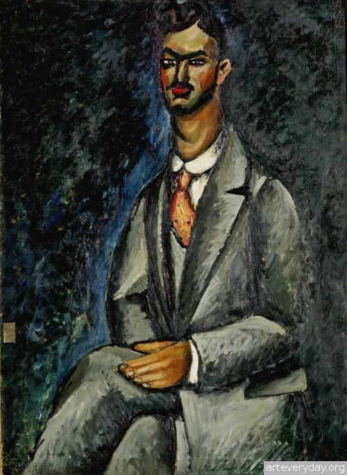 Портрет поэта. 1910 г.