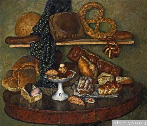 Снедь московская. Хлебы. 1924 г.