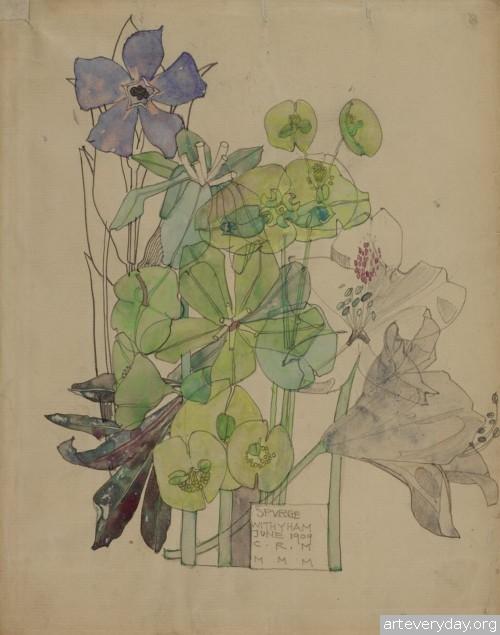 2  Чарльз Ренни Макинтош-Charles Rennie Mackintosh   ARTeveryday.org
