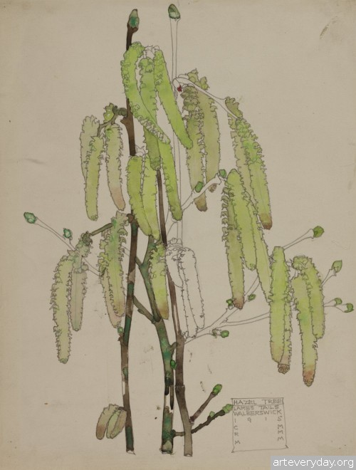 4  Чарльз Ренни Макинтош-Charles Rennie Mackintosh   ARTeveryday.org
