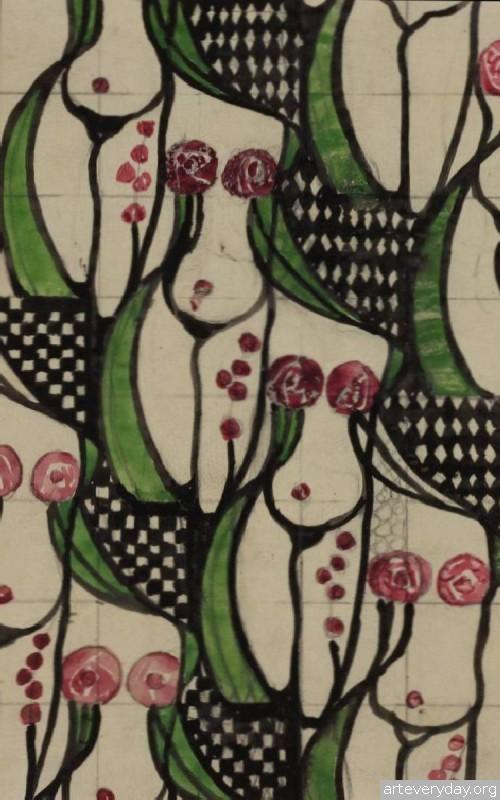 15  Чарльз Ренни Макинтош-Charles Rennie Mackintosh   ARTeveryday.org