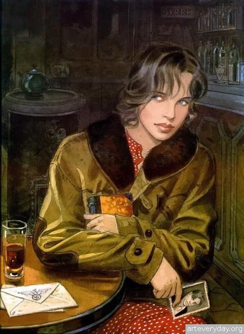5 | Jean-Pierre Gibrat. Эстетика книжной иллюстрации | ARTeveryday.org