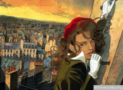 2 | Jean-Pierre Gibrat. Эстетика книжной иллюстрации | ARTeveryday.org