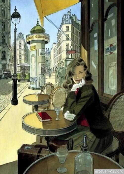 6 | Jean-Pierre Gibrat. Эстетика книжной иллюстрации | ARTeveryday.org