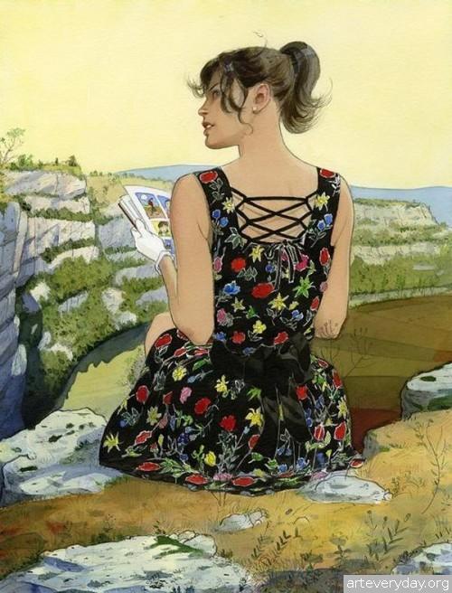 7 | Jean-Pierre Gibrat. Эстетика книжной иллюстрации | ARTeveryday.org