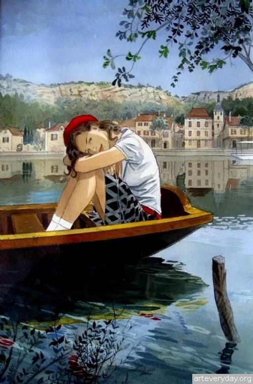 8 | Jean-Pierre Gibrat. Эстетика книжной иллюстрации | ARTeveryday.org