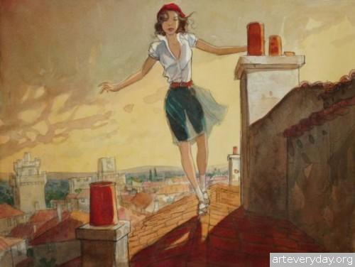 9 | Jean-Pierre Gibrat. Эстетика книжной иллюстрации | ARTeveryday.org