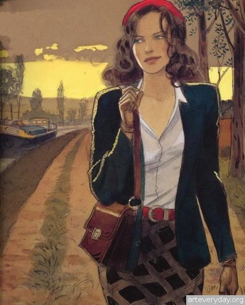 1 | Jean-Pierre Gibrat. Эстетика книжной иллюстрации | ARTeveryday.org
